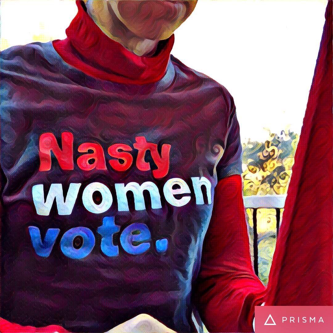 Nasty Women Vote t-shirt
